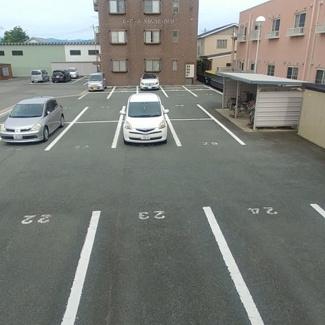 【駐車場】レ・アールSAGAE
