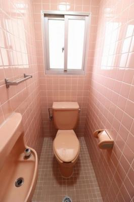 【トイレ】コーポ汀良