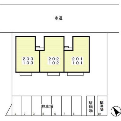 【区画図】ステラコート