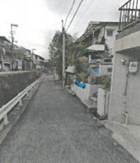 【前面道路含む現地写真】神戸市垂水区塩屋台1丁目 土地