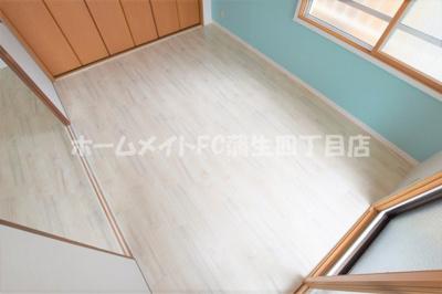 【寝室】グローリーマンション