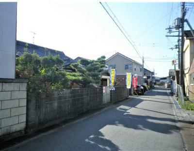 【前面道路含む現地写真】橋本市高野口町