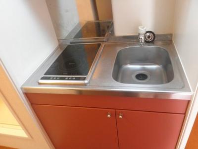 【キッチン】レオパレスフリーデ