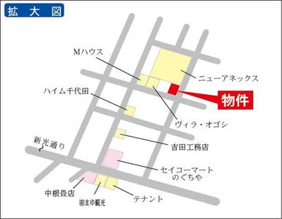 お買い物に便利な稲吉東地区!