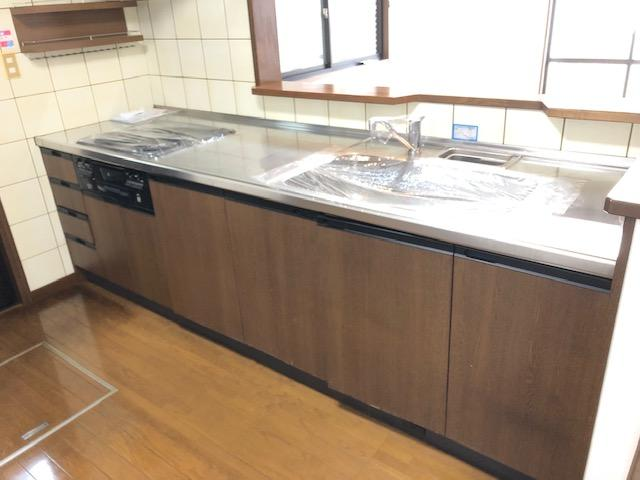 【キッチン】八幡町中古一戸建