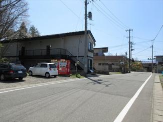 前面道路(明田上北手線:幅員7.8m)