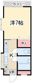 2階部分の出窓付きの東南角部屋で明るく開放感のあるお部屋です。