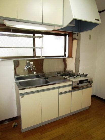 調理スペースのある使いやすいキッチンです。