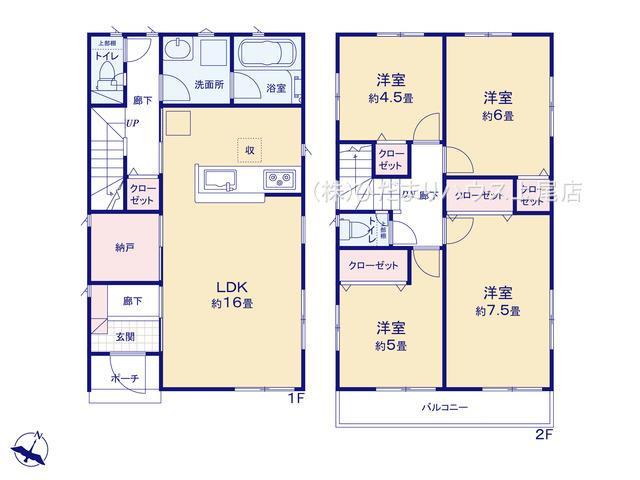 上尾市小泉 第10 新築一戸建て クレイドルガーデン 01