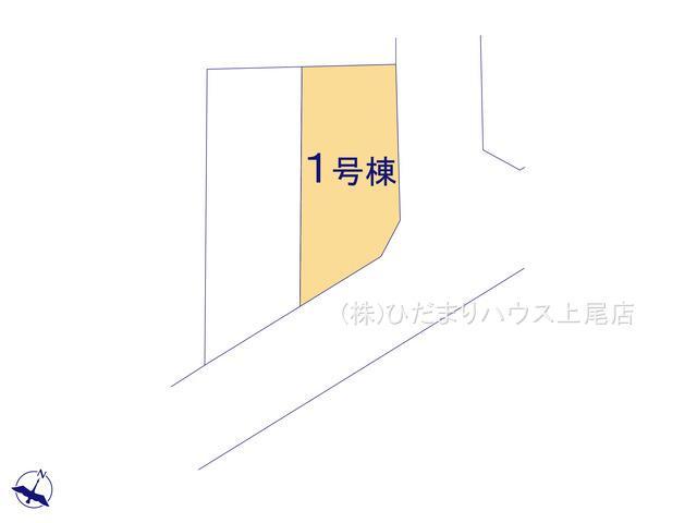 【区画図】上尾市小泉 第10 新築一戸建て クレイドルガーデン 01