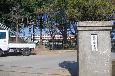 館林市立第一中学校まで1300m