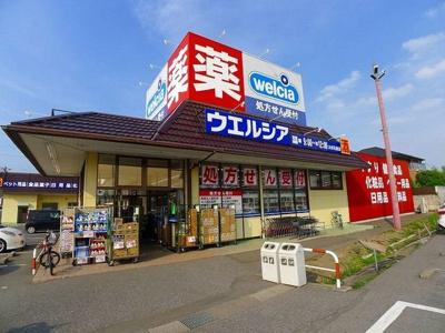 ウエルシア太田韮川店まで600m