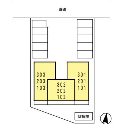【区画図】トレビナ秋根南