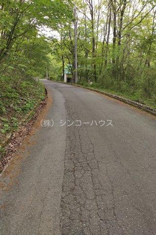 【前面道路含む現地写真】那須バケイションランド別荘地