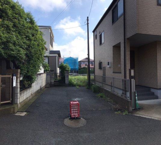 【前面道路含む現地写真】鎌ヶ谷市西佐津間