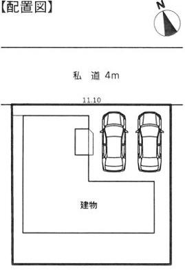 【区画図】浜松市中区泉4丁目 20-2期 新築一戸建て ID
