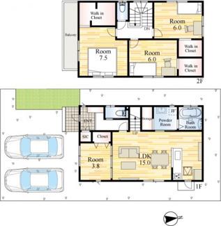 家族の動線が込み合わないように、階段や玄関まわりなど、普段の動きがよりスムーズにできるよう考慮しています。