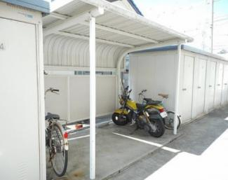 【駐輪場】浜松市南区高塚町一棟マンション