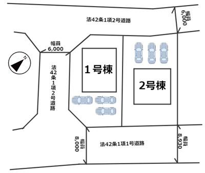 【区画図】相生市古池本町第1