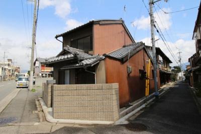 【外観】紫野上野町貸家