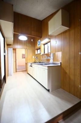 【キッチン】紫野上野町貸家