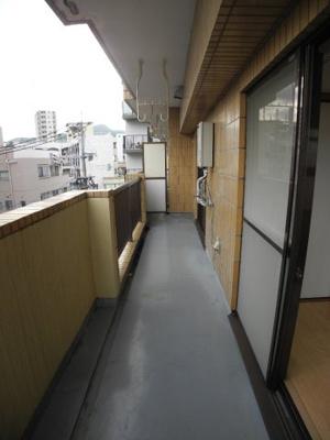 【バルコニー】大橋七福ビル