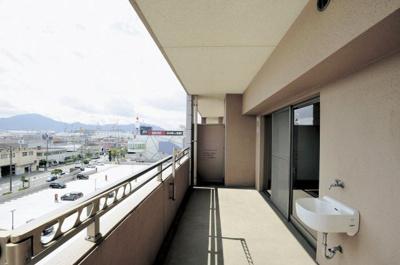 【バルコニー】エバーライフグランポート下関駅南壱番館 604号