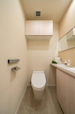 【トイレ】シティタワー麻布十番