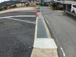 【前面道路含む現地写真】南多田字堀塚分譲地A号地