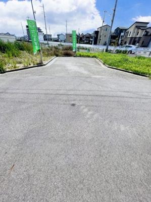 【前面道路含む現地写真】南余部 売土地