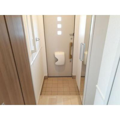 【玄関】カルムハウスⅡ