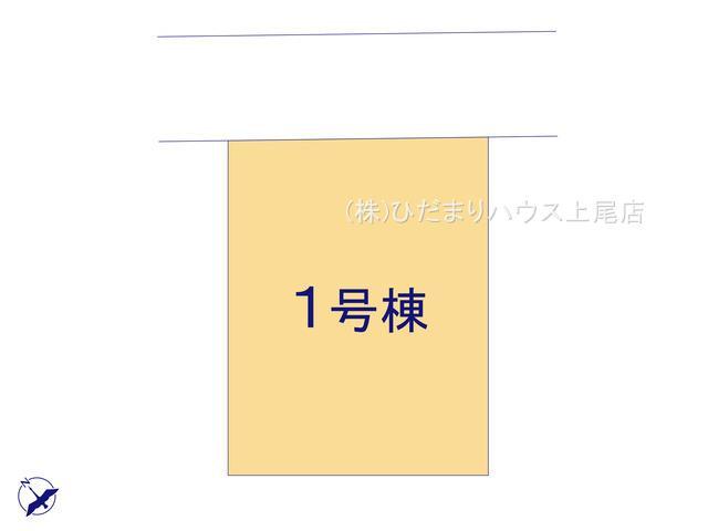 【区画図】伊奈町栄 第8 新築一戸建て リーブルガーデン 01