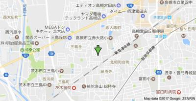 【地図】ハイム白山
