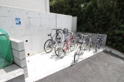 駐輪場です♪