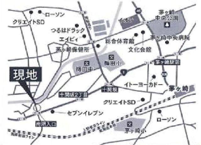 【地図】売地 茅ヶ崎市南湖1丁目 №G