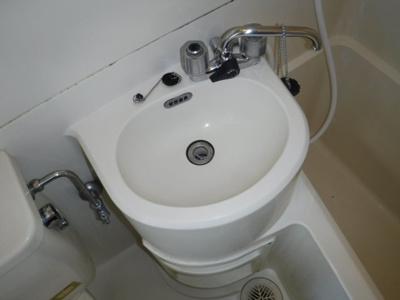 【洗面所】プレイン第二マンション