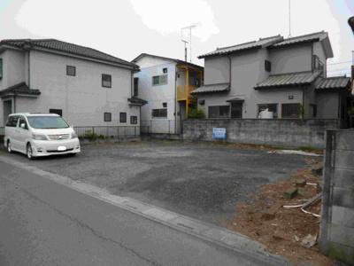 【外観】湯川駐車場