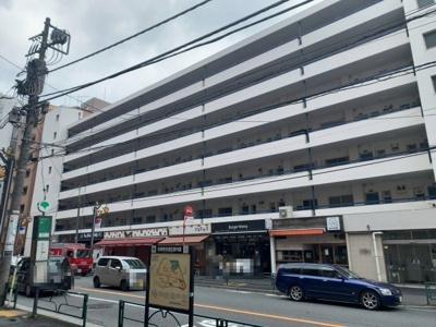 恵比寿駅徒歩3分、都心の利便性を享受できる立地です(2021.09.05撮影)。