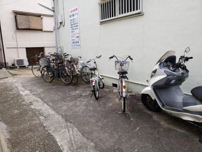 駐輪・バイク置場☆神戸市垂水区 第1太陽ハイツ☆