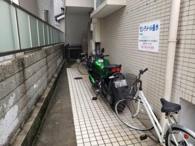 駐輪場・エントランス☆神戸市垂水区 モンテメール垂水☆