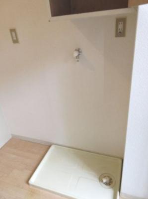 室内洗濯機置場☆神戸市垂水区 モンテメール垂水☆