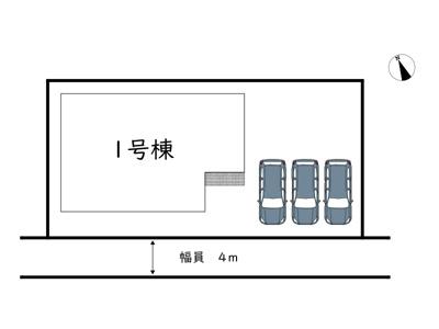 【区画図】姫路市田寺2期/全1棟