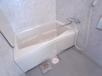 足のびのびバスルーム!