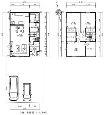 建物プラン平面図