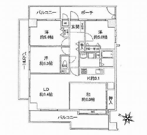 海老名市上今泉3丁目 ロイヤルステージ海老名Ⅱ 中古マンション
