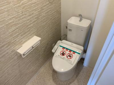 コンパクトで使いやすいトイレです。
