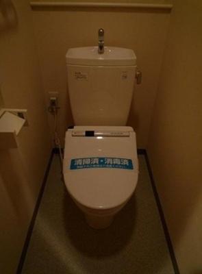 【トイレ】ドルチェ銀座東壱番館