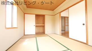 和室には収納があります!
