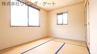 2面採光でお部屋に光が差し込みます。