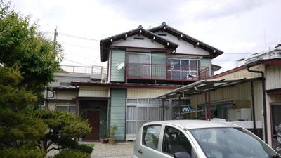 【外観】さくら市氏家 5DK 中古住宅